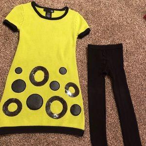 Other - Girls sweater dress set